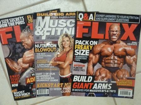 muscle building magazines
