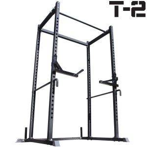 Titan Power Rack Squat Deadlift Lift Cage Bench Racks