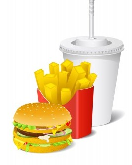 calories in fast food