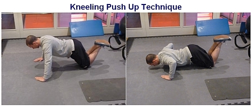 push up technique